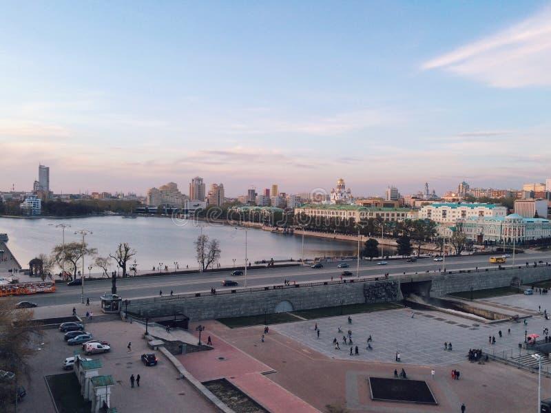 Ekaterinburg视图 库存照片