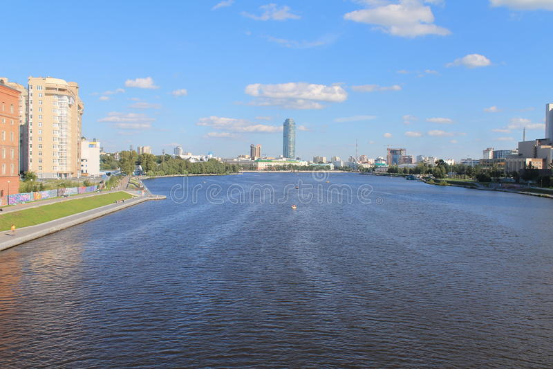 Ekaterinburg image libre de droits