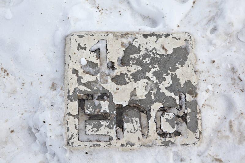EKATERINBURG, RUSSLAND - 11. FEBRUAR 2015: Foto des Schlüssels stockfoto