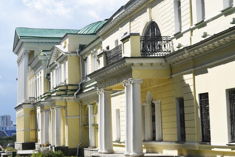 Ekaterinburg Slotten av Kharitonov-Rastorguev royaltyfri bild