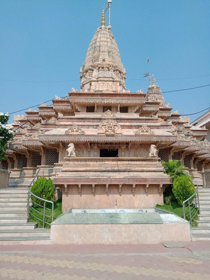 Ekavira god temple of Amravati. Amravati , india - november  16, 2019, front of ekavira  god temple  tourism place in amravati in maharastra,india royalty free stock photo