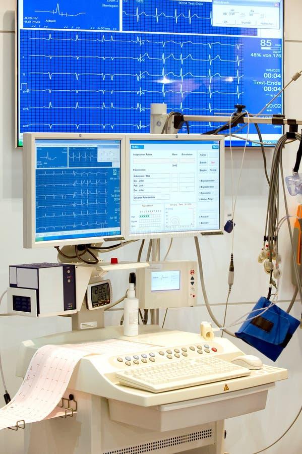 EKG心电图, ECG 库存照片