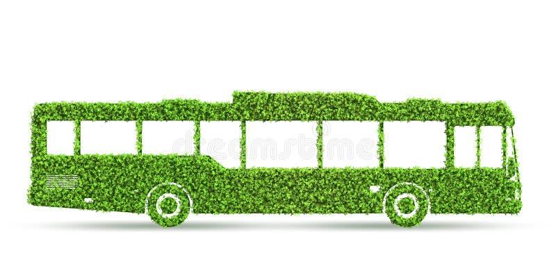 Eklektisches Fahrzeugkonzept der gr?nen niedrigen Emission - Wiedergabe 3d vektor abbildung