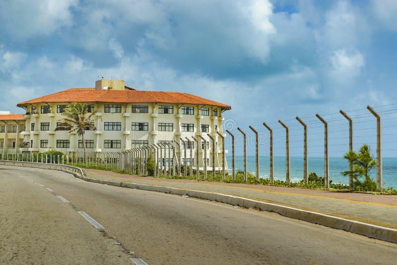 Eklektisk stil som bygger Natal Brazil royaltyfria bilder