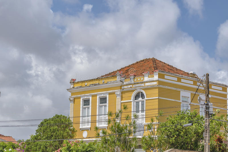 Eklektisk stil som bygger Natal Brazil royaltyfri foto