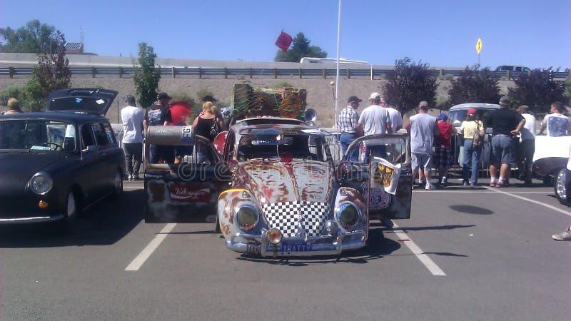 Eklektyka VW przy szczura Rod Auto przedstawieniem w iskrach NV obraz royalty free