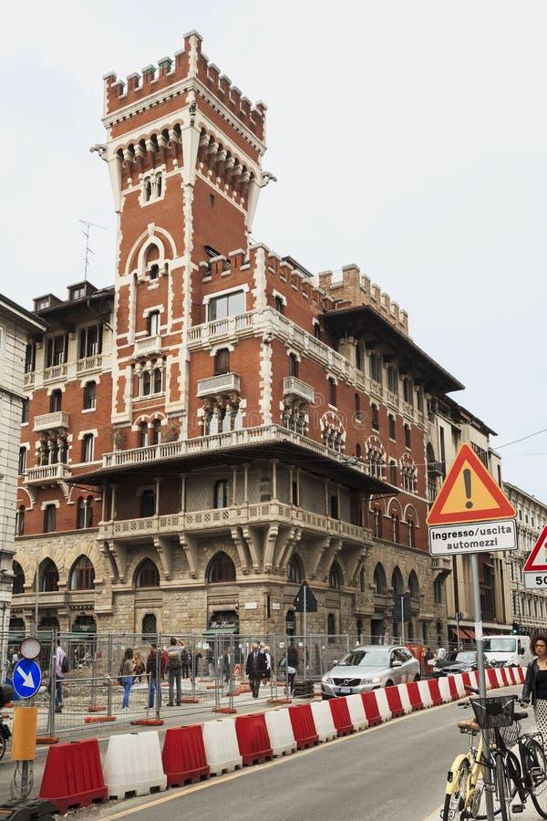 Eklektyzm w Mediolan zdjęcie stock