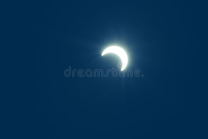 Eklipse stockbild