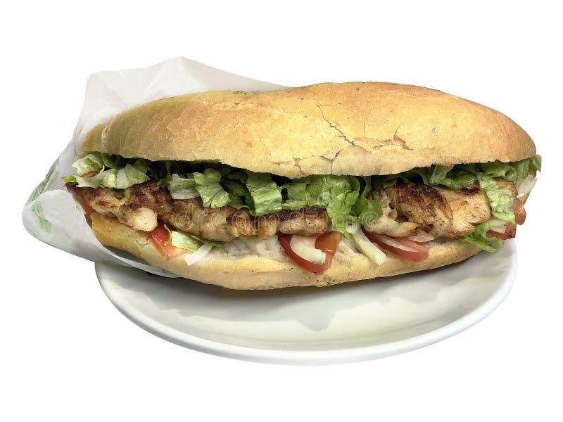 Ekmek Tavuk стоковая фотография