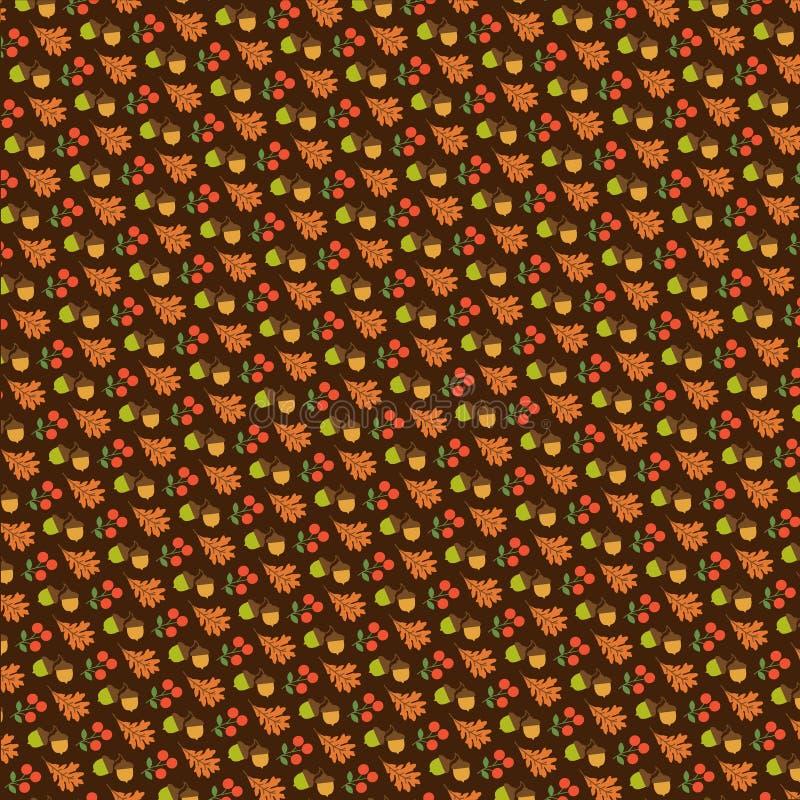 Ekollon- och eksidabrunt vektor illustrationer