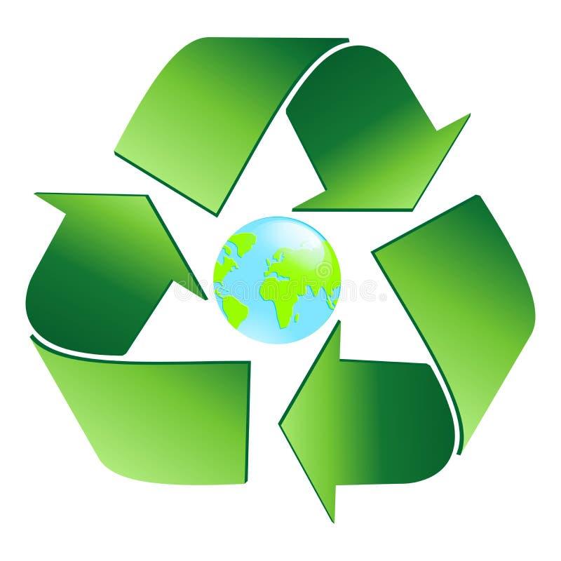 ekologia świat ilustracja wektor