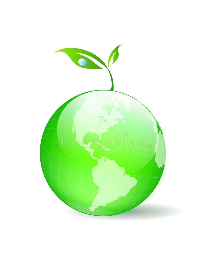 ekologia globalna ilustracji