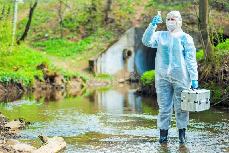 Ekologia i zanieczyszczenie ?rodowiska fotografia royalty free