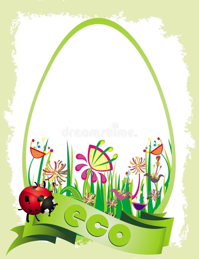 ekologia karciani kwiaty ilustracji