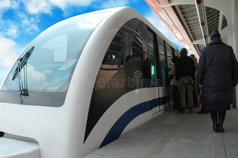 ekologicznego transportu obraz royalty free
