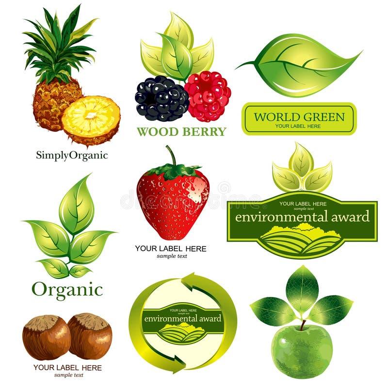 ekologiczny symbolics ilustracji