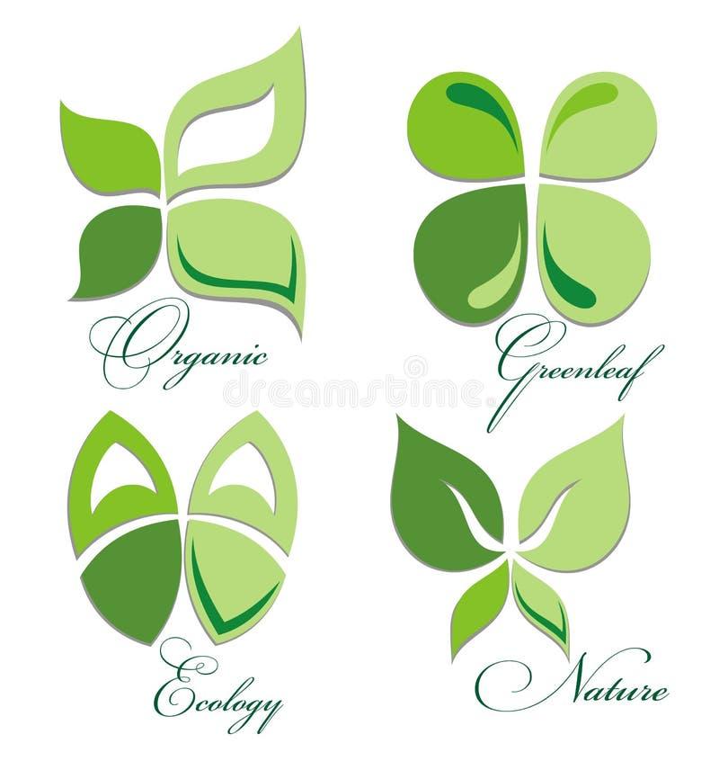 Ekologii ikony set ilustracja wektor