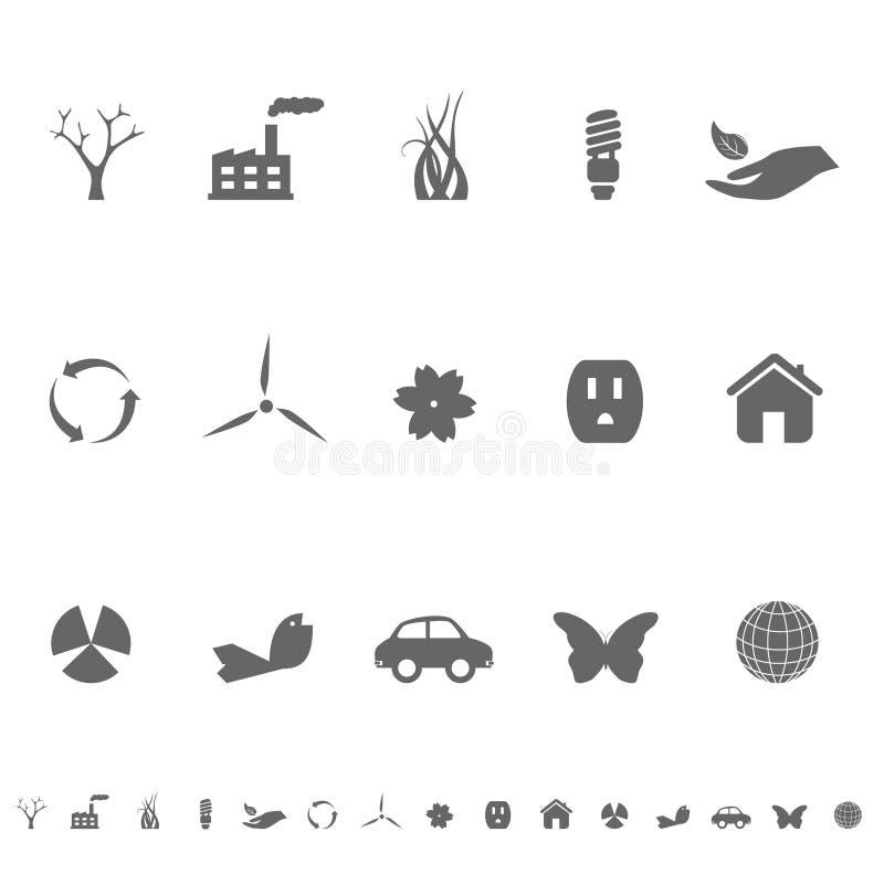Download Ekologii środowiska Symbole Ilustracja Wektor - Obraz: 14534554