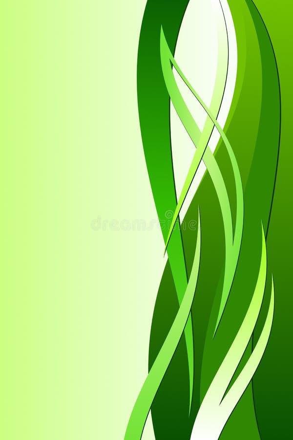 ekologii zieleń royalty ilustracja