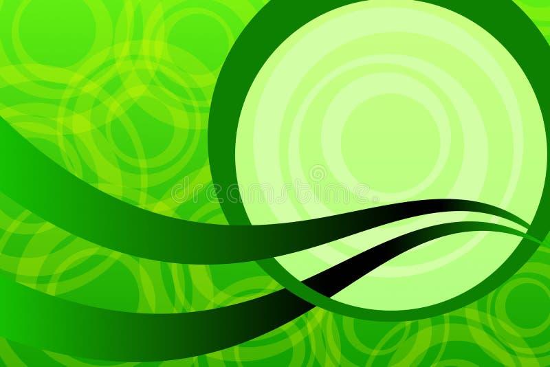 ekologii zieleń ilustracji
