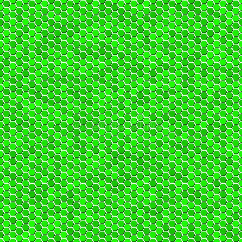 ekologii zieleni wzór bezszwowy ilustracji