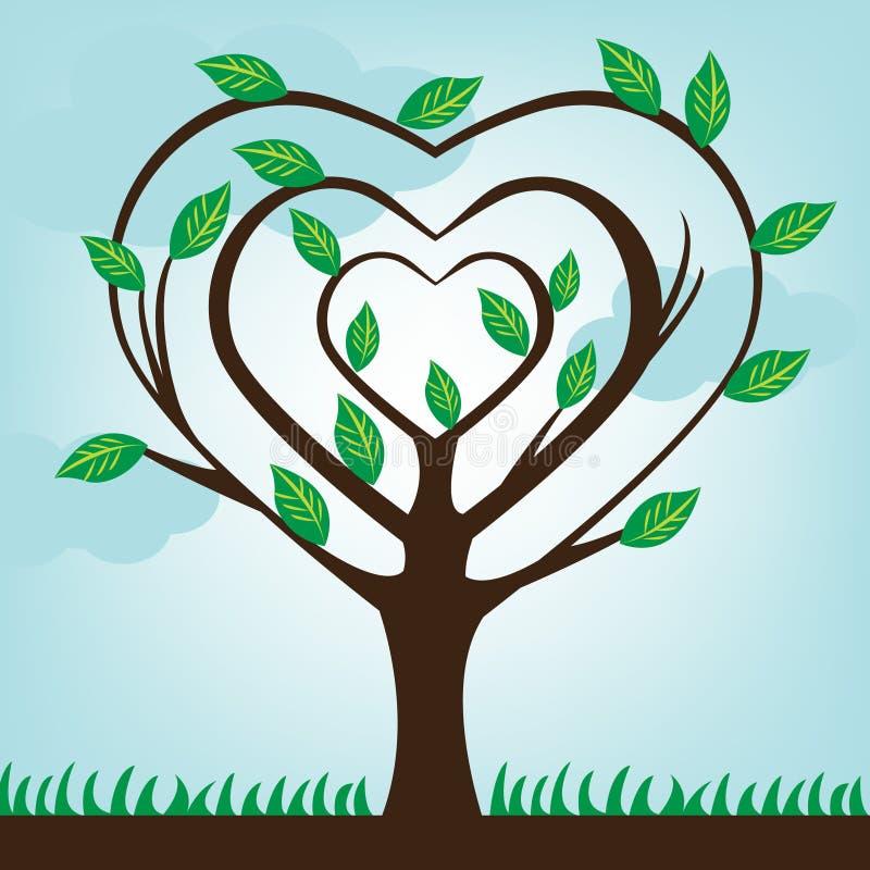 Ekologisk Tree Royaltyfria Bilder