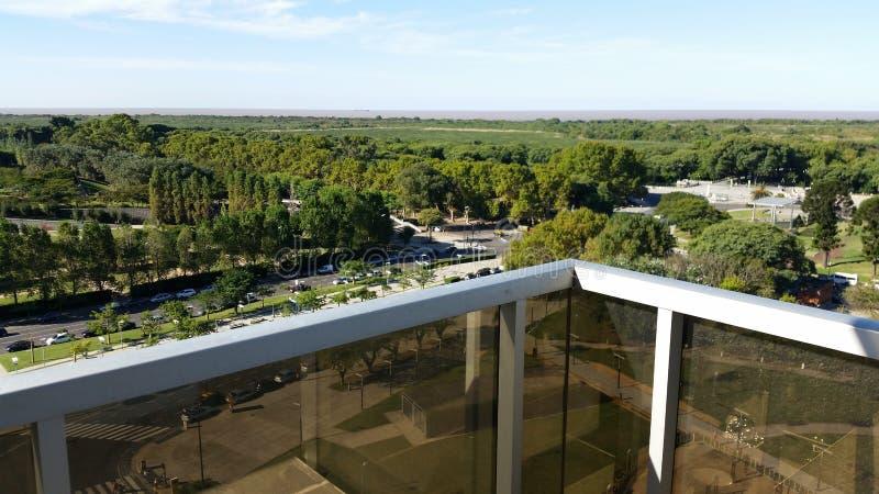 Ekologisk utsikt 1 för reservpuertomadero royaltyfri bild