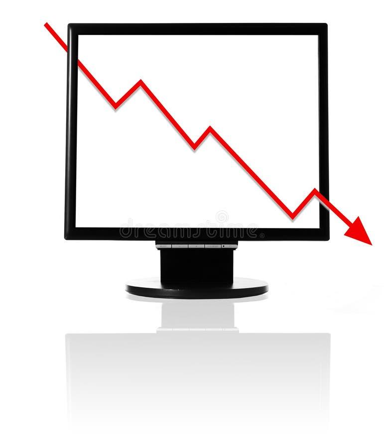 ekonomisk kris royaltyfria bilder