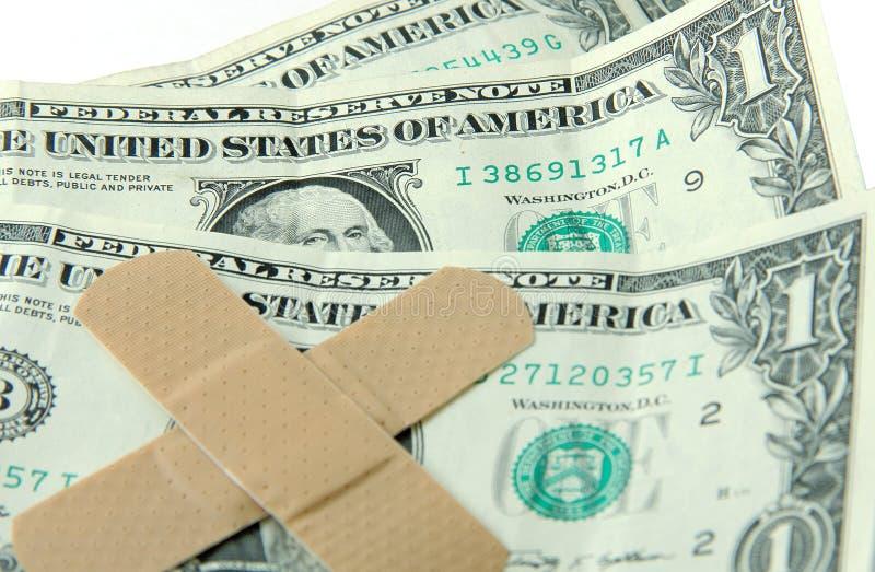 Ekonomisk strapats arkivfoton