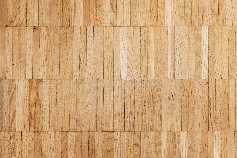 Ekparkett som göras av träplankor royaltyfri bild