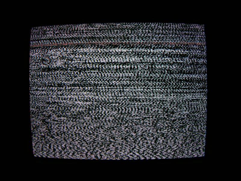 ekran tv fotografia stock