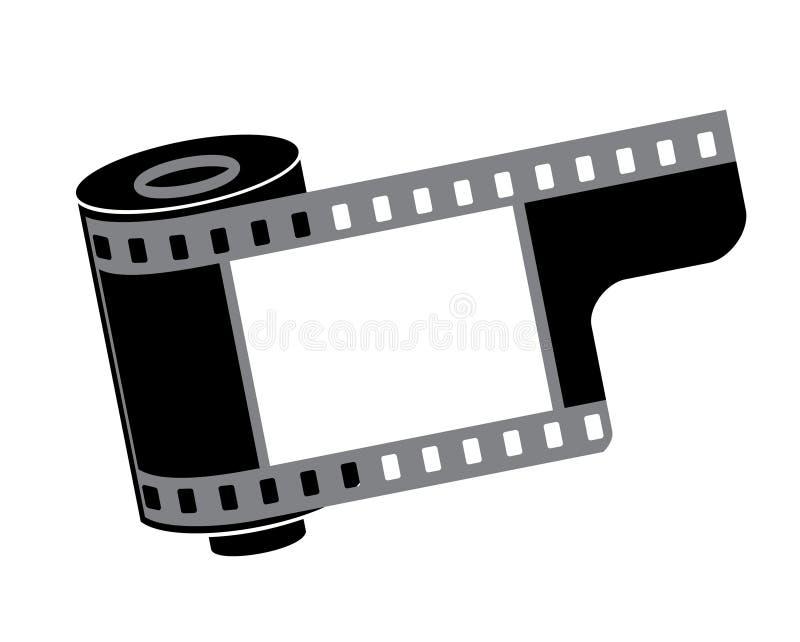 ekranowa kamery rolka royalty ilustracja