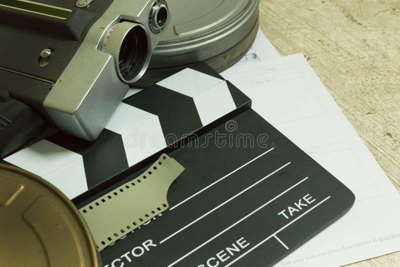 Ekranowa produkcja Za sceny mieszkania nieatutowym wizerunkiem dla tła zdjęcie royalty free