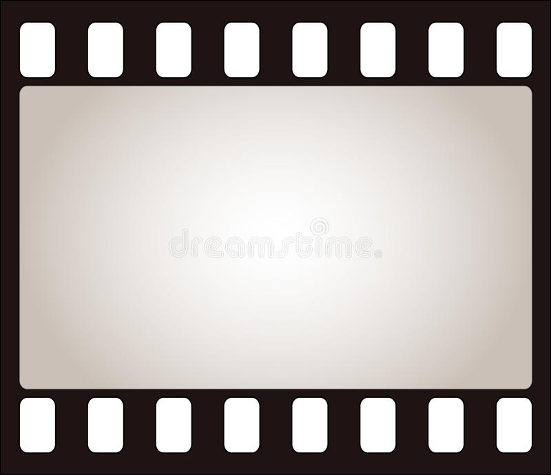 ekranowa rama ilustracja wektor