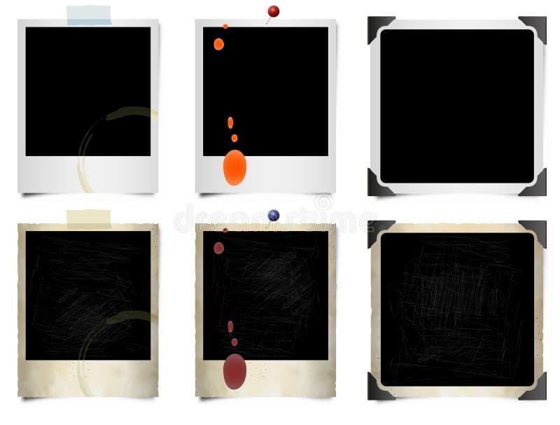ekranowe natychmiastowe fotografie ilustracji