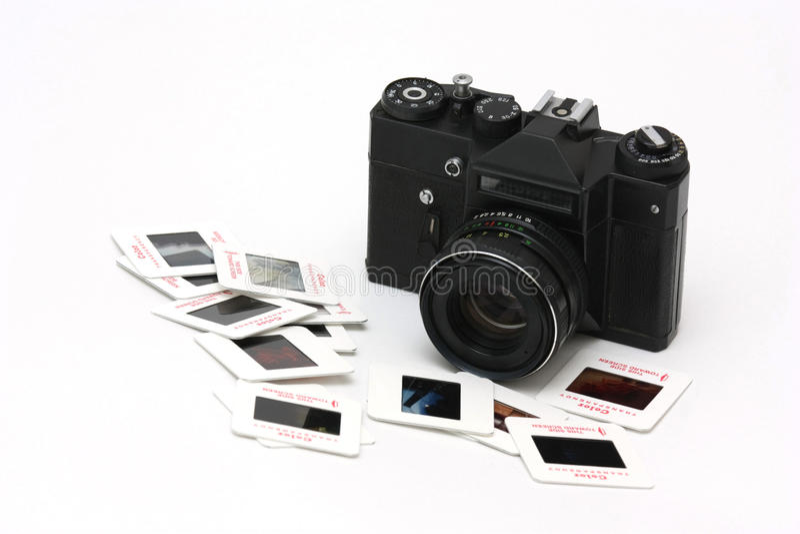 ekranowi kamer obruszenia zdjęcie stock