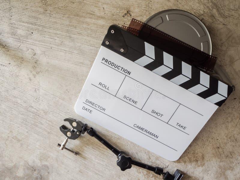 Ekranowy łupkowy filmu narzędzie zdjęcie royalty free