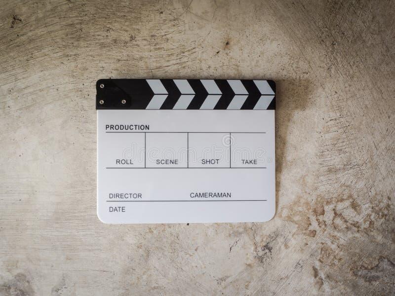 Ekranowy łupkowy filmu narzędzie fotografia royalty free