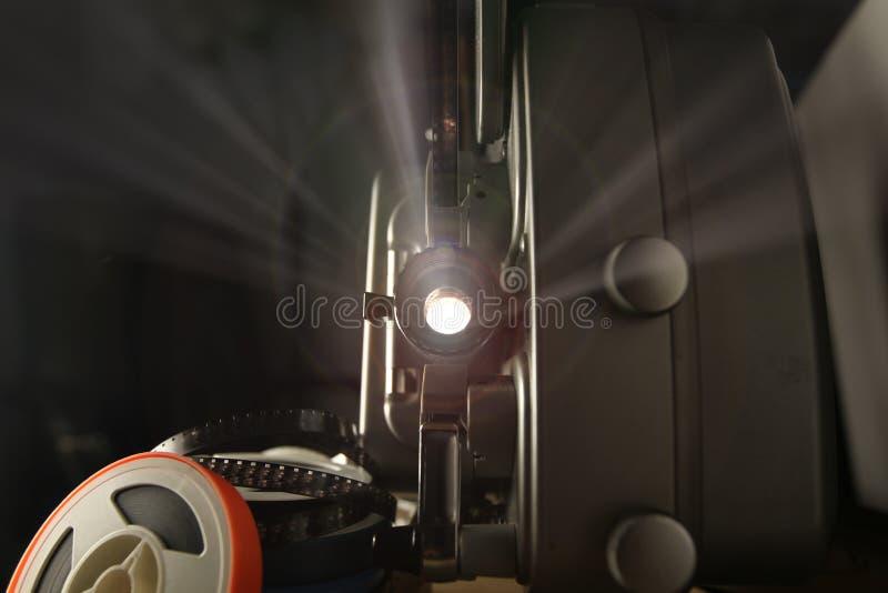 ekranowy 8mm projektor zdjęcie royalty free