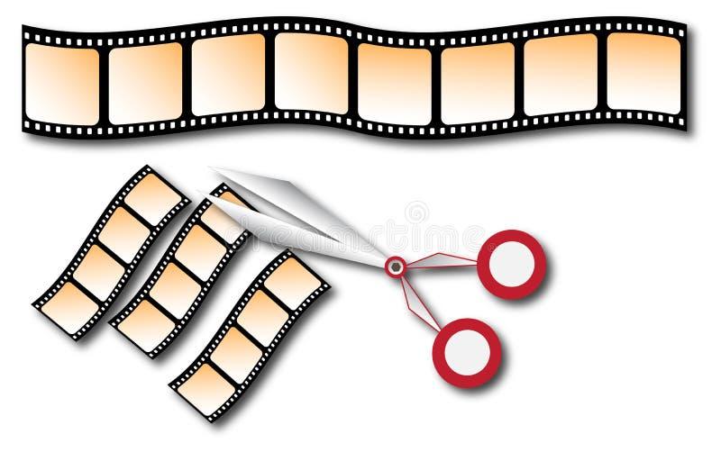 ekranowy faborek ilustracja wektor
