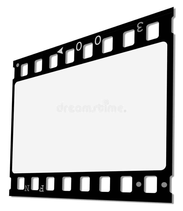 ekranowy film ilustracji