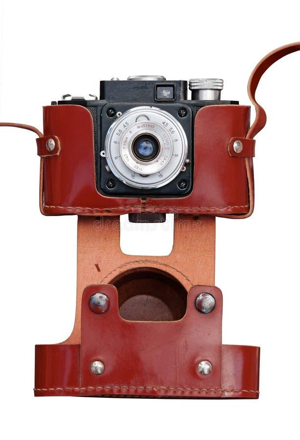 ekranowy kamera rocznik zdjęcia stock