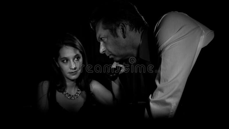 Ekranowy noir zdjęcie royalty free