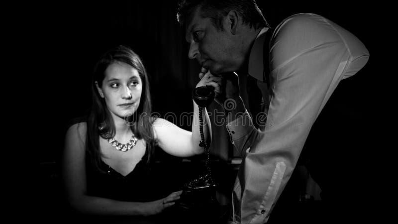 Ekranowy noir zdjęcia royalty free