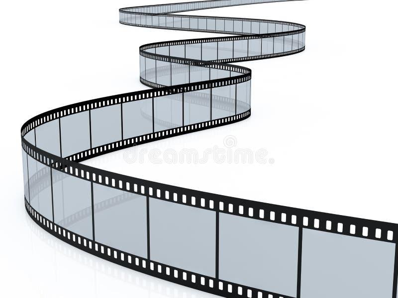 ekranowy pasek royalty ilustracja