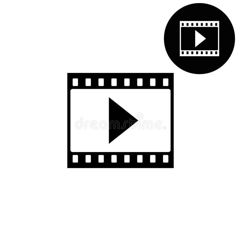 Ekranowy pasek z sztuką - biała wektorowa ikona ilustracji