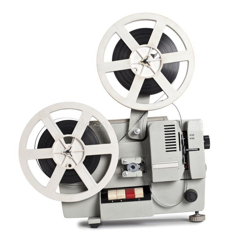 ekranowy stary projektor zdjęcia stock