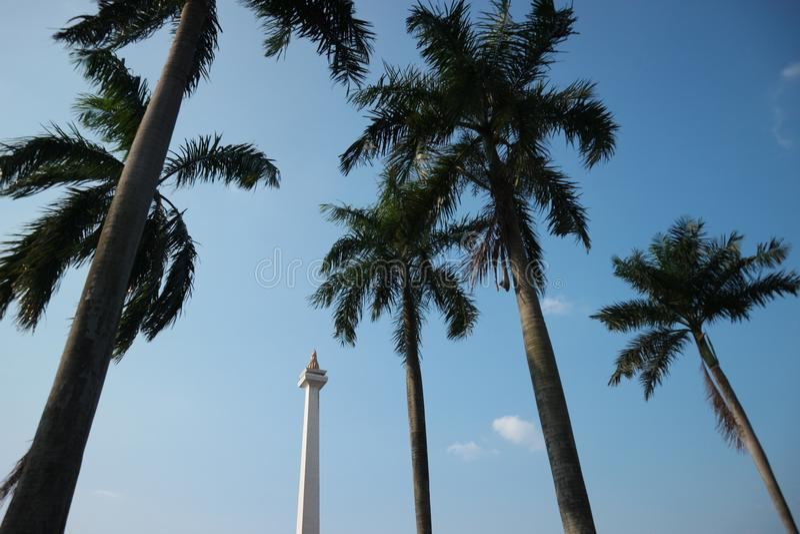 Landmark indonesia royalty free stock photo