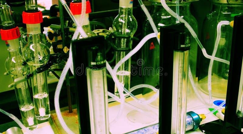 eksperyment. zdjęcie stock