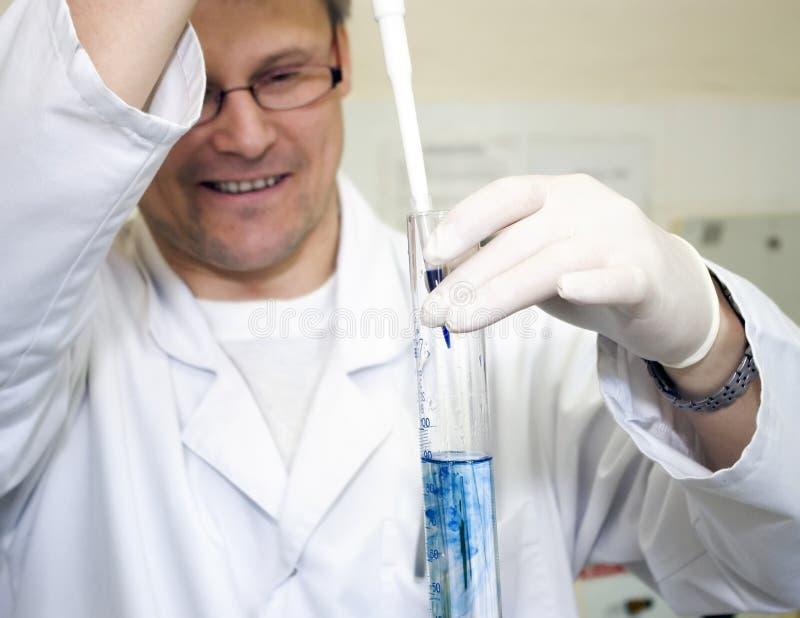 eksperyment laboratorium obraz royalty free